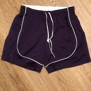 Athleta purple shorts